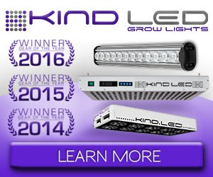 Kind LED grow lights - award winning!